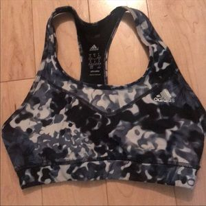 Adidas color fade sports bra size med new